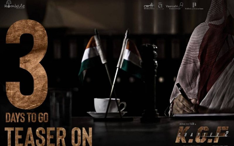 Check out the KGF Chapter 2 new poster