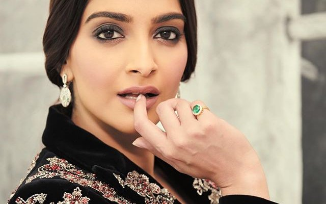 Bold and beautiful Sonam
