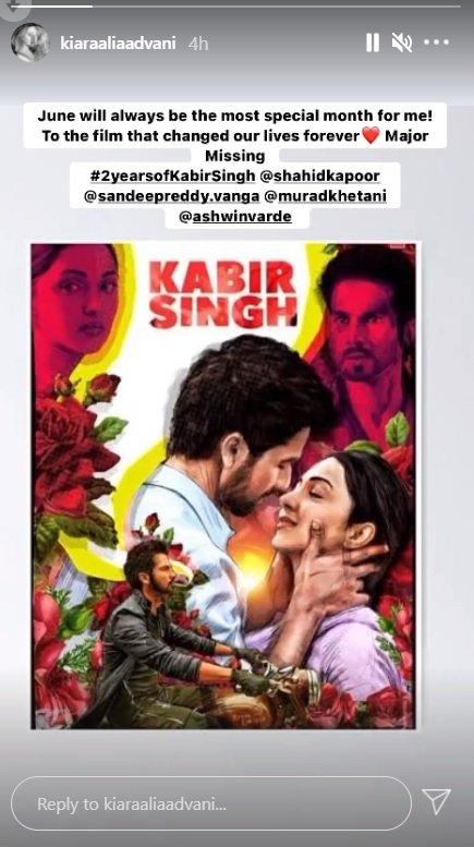 Kabir Singh changed my life forever, says Kiara Advani