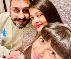 Aishwarya Rai Bachchan and Abhishek Bachchan celebrate anniversary over a video call