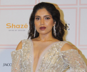 Bhumi Pednekar looks gorgeous in a bold outfit at Vogue Beauty Awards