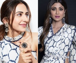 Shilpa Shetty's saree and Rakul Preet Singh's summer-friendly skirt are all about classy fashion drama