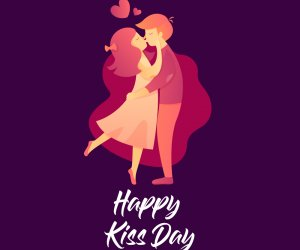 Happy Kiss Day 2020: WhatsApp Status Wishes, Romantic images and greetings, to share and impress your special love
