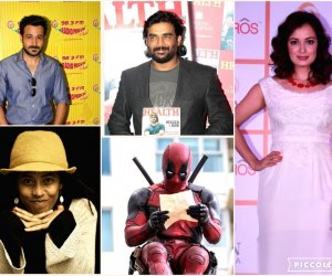 """Dia Mirza becomes makeup woman, Deadpool 2 Chinese re-release, Emran Hashmi's """"kisser'' tag affected early film career and more"""