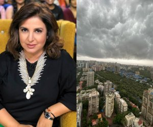 Farah Khan captures the dramatic sky that gives a feel of an alien attack sans VFX
