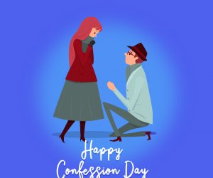 Happy Confession Day: Express love, and cherish the moment of happiness today