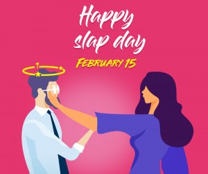 After Valentine's Day, know When is Happy Slap Day 2020?
