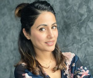 Hina Khan's weekend glow is fresh and addictive and her floral blouse is totally drool-worthy