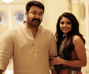 Mohanlal wishes his Big Brother co- star- the beautiful Mirna Menon 'Happy Birthday'!!