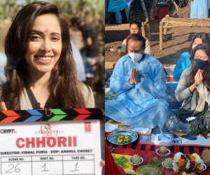 Nushrratt Bharruccha kickstarts shooting for Chhorii in Madhya Pradesh