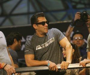 Photos: Salman Khan & Dabangg 3 Saiee Manjrekar spotted at Being Strong Fitness equipments launch event at Goregaon