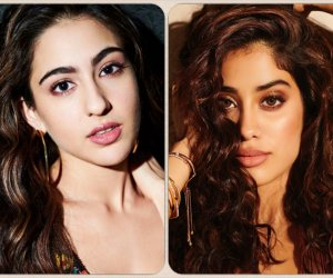 Sara Ali Khan and Janhvi Kapoor exude freshness and untamed charm