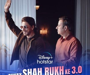 Shah Rukh Khan throws phone off balcony in new Disney+ Hotstar ad, creates more suspense for fans