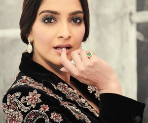 Bold and beautiful Sonam loves to wear colours according to the mood of the event
