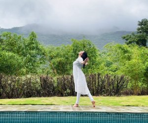 Sushmita Sen gracefully dances in the rain: 'I find hard to resist ever since my childhood'