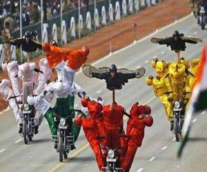 Republic Day Special:Most Daredevil Motorbike Stunts on Republic Day Parade