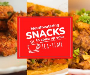 Mouthwatering snacks to s