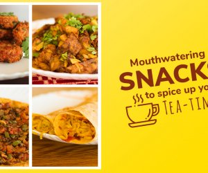 Mouthwatering snacks to spice-up your tea-time