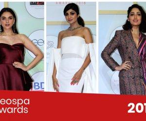Kriti, Raveena, Shipa and Shahid Kapoor sizzled at the GeoSpa Awards 2019