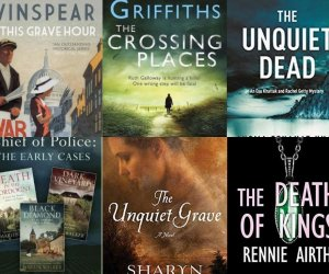 CRIMES OF PAST-AND-PRESENT:  6 crime-thrillers where past and present get connected!