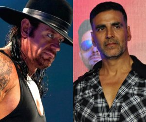 Undertaker challenges Akshay Kumar for a real fight, actor reacts