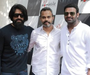Yash and Prabhas grace the launch of Salaar