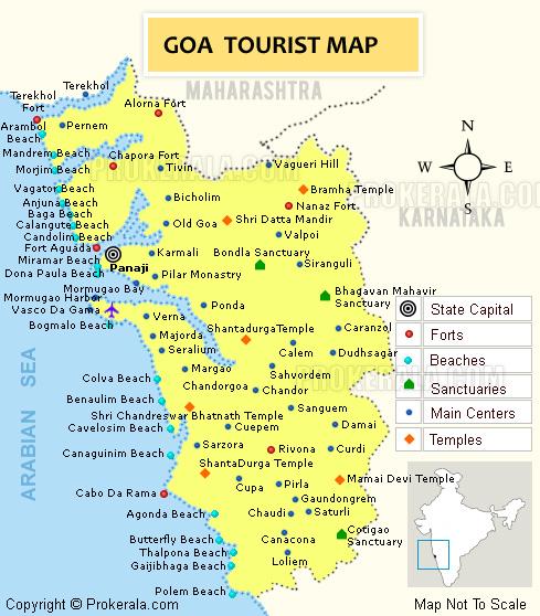 Goa tourist destinations