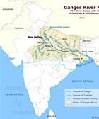 Ganges River Map