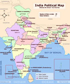 India Maps, Various useful India Maps