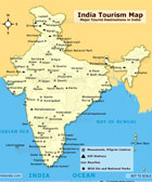 India Tourist Map