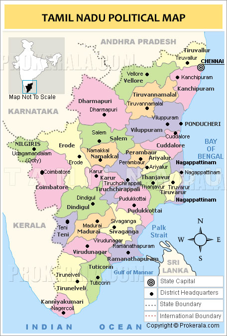 Tamil nadu map map of tamil nadu state tamilnadu districts map tamil nadu gumiabroncs Choice Image