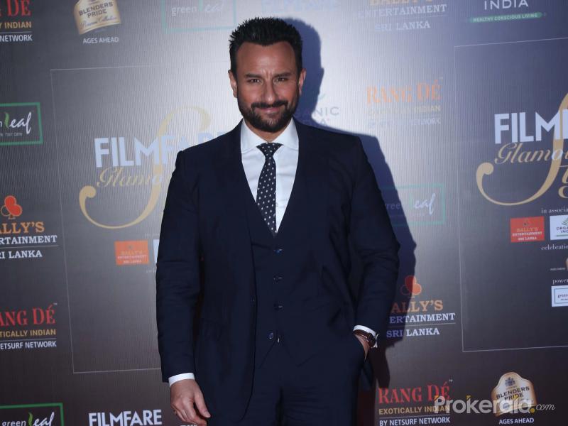 Actor Saif Ali Khan