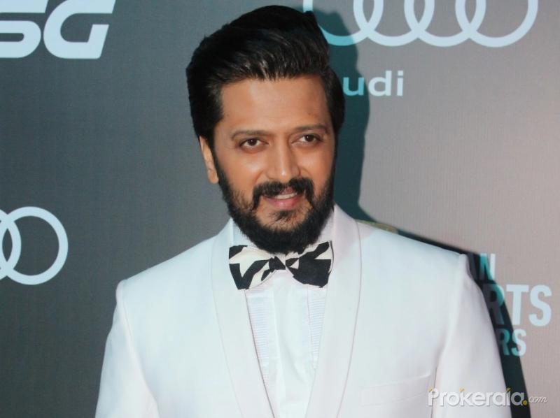 Actor Ritesh Deshmukh