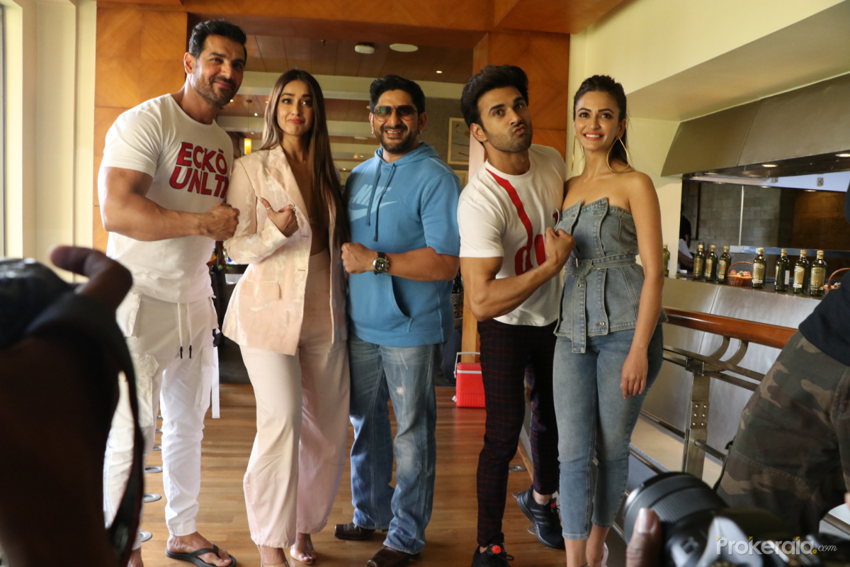 Pagalpanti movie promotion