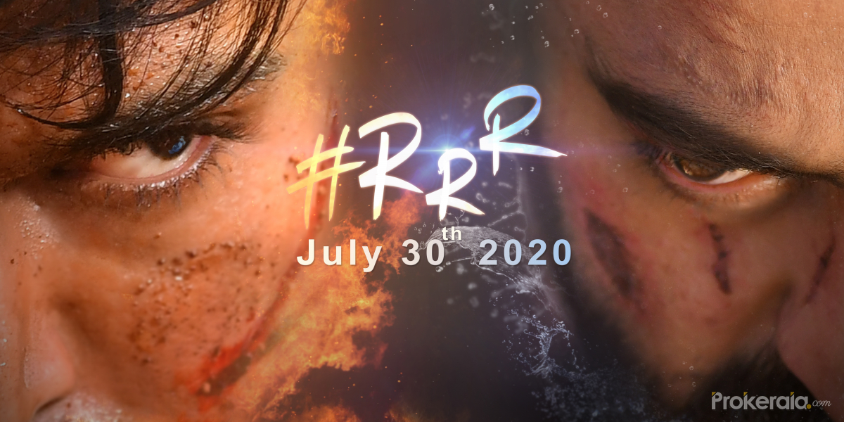 Tollywowod movie RRR poster