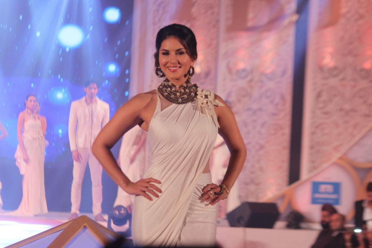 Sunny Leone At IBJA
