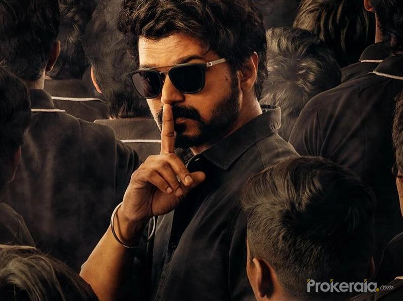 Tamil Movie Master Poster.