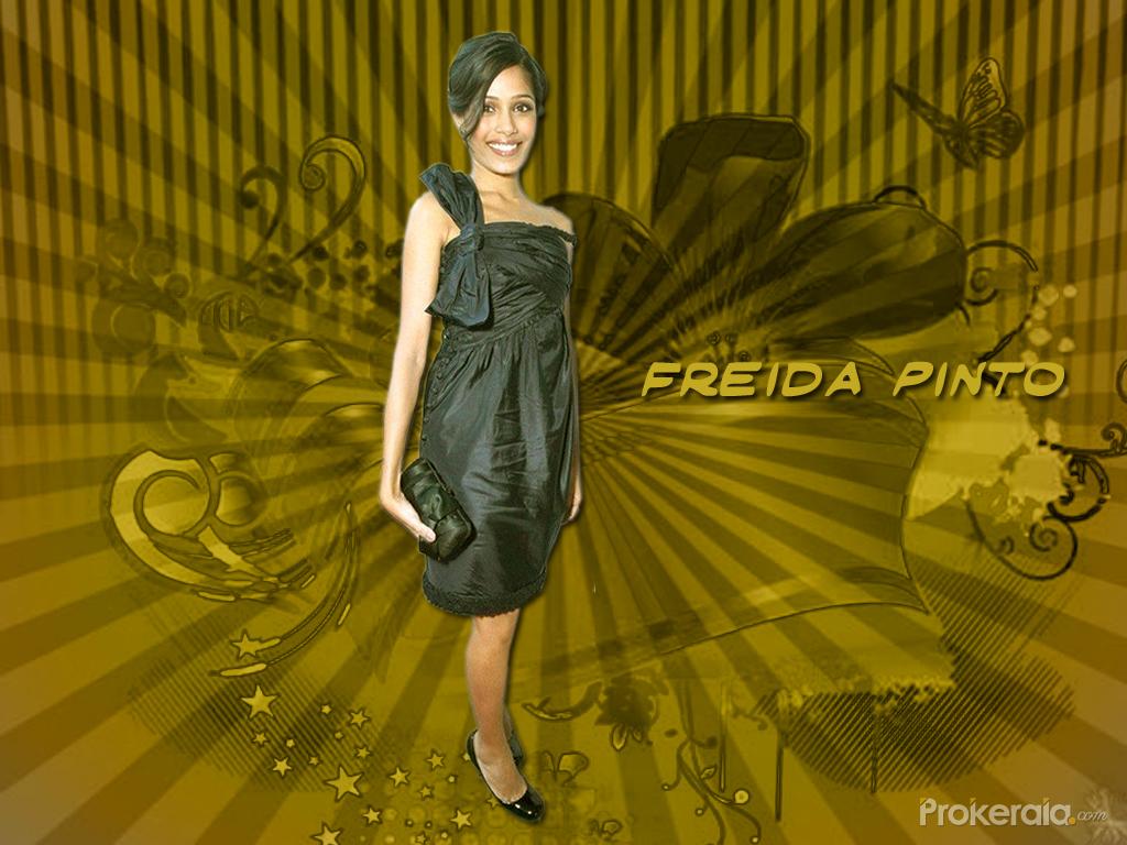 Freida Pinto Wallpaper...