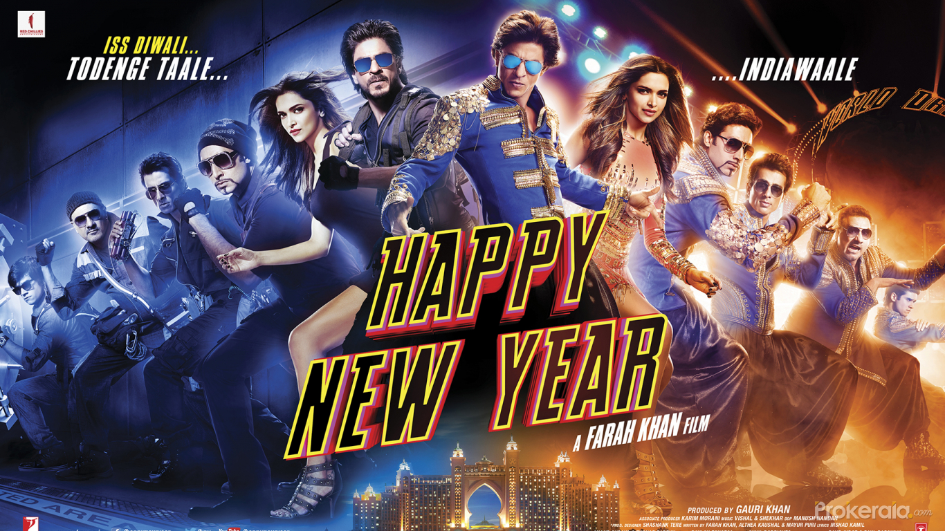 happy new year movie poster wallpaper