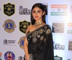 Made in China's Mouni Roy stuns her fans in this contemporary black ruffle saree