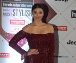 Daisy Shah dazzles in hot red ensemble as she makes an exquisite appearance at Filmfare Glamour Awards