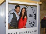 Sidharth Malhotra and Katrina Kaif @ Baar Baar Dekho movie Promotion