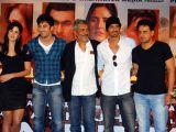 Katrina Kaif, Ranbir Kapoor, Prakash Jha, Arjun Rampal and Manoj Bajpai