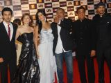 Katrina Kaif, Ranbir Kapoor, Prakash Jha, Ronnie Screwvala and Arjun Rampal