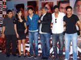 Ronnie Screwvala, Katrina Kaif, Ranbir Kapoor, Prakash Jha, Arjun Rampal and Manoj Bajpai