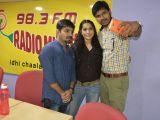 Tanu Vacchenanta team at radio Mirchi
