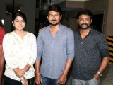 Udhaynidhi Stalin Celebrated his Birthday at the Sets