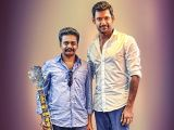 Vishal launches the trailer of  Ivan Yarendru Therikiratha