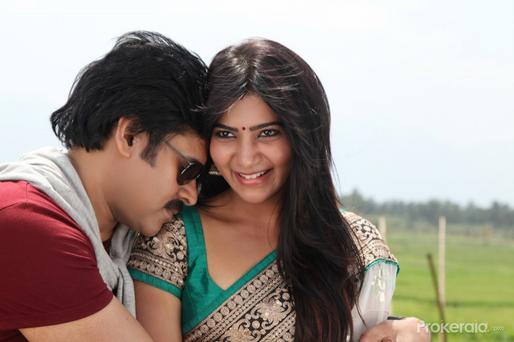 attarintiki daredi movie stills - samantha and pawan kalyan