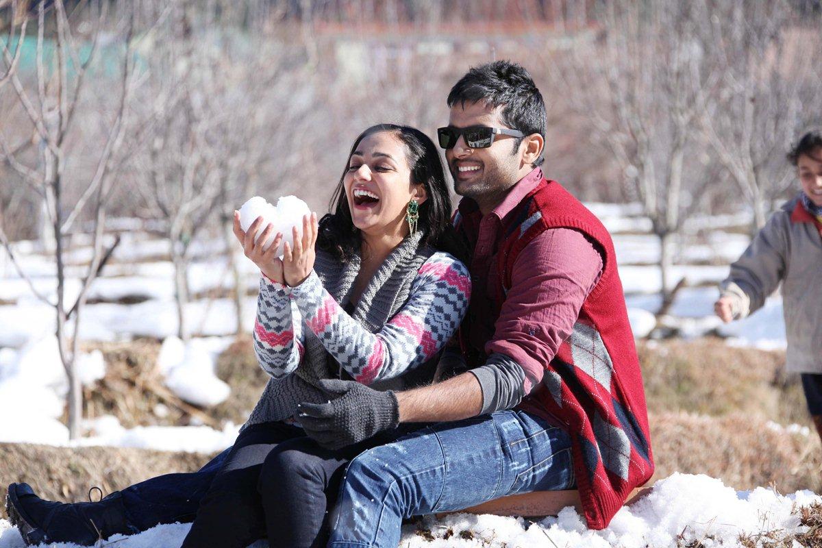 Nithins Ishq Nithya Menon In Aye Priya Still 1